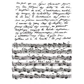 Tampons Clear fond musique et écriture