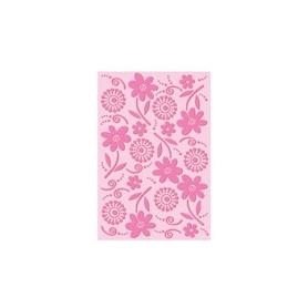 Plaque d'embossage Happy Cut fleurs