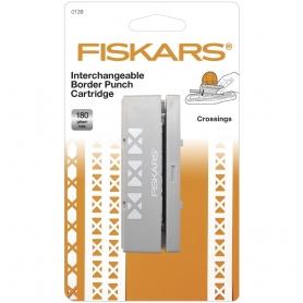 Cartouche Fiskars croisillons pour perforatrice à bordure interchangeable