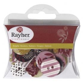 "Boutons epoxy ""moderne"" Rayher"