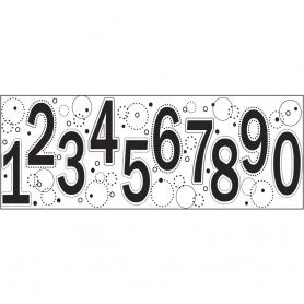 Tampon continu Fiskars motif chiffres