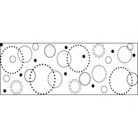 Tampon continu Fiskars motif cercles