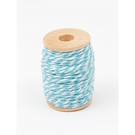 Bobine ficelle Baker' Twine turquoise Rico Design