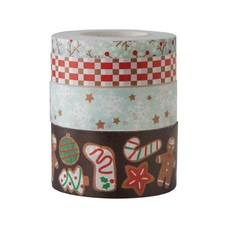 Lot 4 masking tape Noël Rico Design