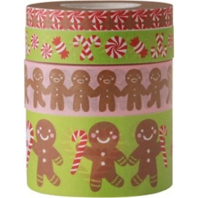 Lot 4 masking tape Noël Rico Design