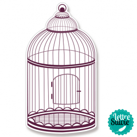 Tampon Stampo Maxi cute cage d'Aladine
