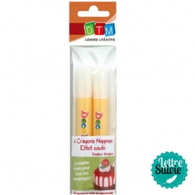 Crayon coulis Fimo mangue