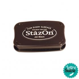 Encreur Stazon noir, toutes surfaces