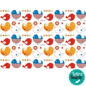 Coupon de tissu 45x55 cm Artemio kids oiseaux
