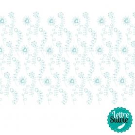 Coupon de tissu 45x55 cm Artemio Sweet Turquoise