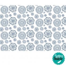 Coupon de tissu 45x55 cm Artemio Sweet Blanc