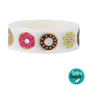 "Masking tape My Memo ""Donuts"" de Rico Design"