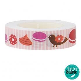 "Masking tape My Memo ""macarons"" de Rico Design"
