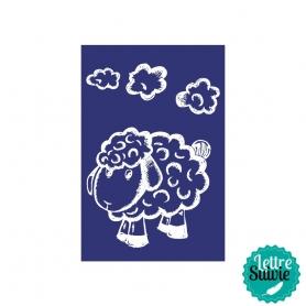Pochoir My Style - mouton A5