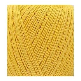 Coton mercerisé jaune 50g - Rico Design