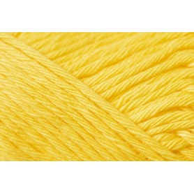 Pelote creative cotton aran jaune clair Rico Design