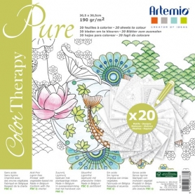 "Coloriage anti-stress Artemio ""Pure"""