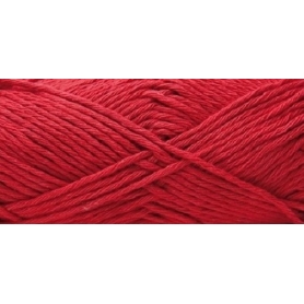 Pelote cotton aran rouge cerise Rico Design