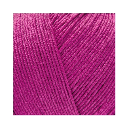 Pelote fil de coton essentials cotton dk framboise Rico Design