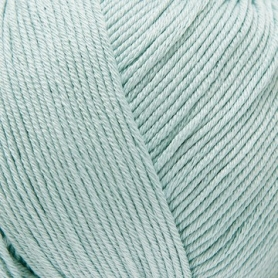 Pelote fil de coton essential cotton dk vert jade Rico Design