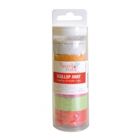 6 rouleaux Washi tape petits carreaux, coloris assortis