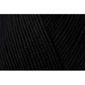 Pelote fil de coton essential cotton dk noir Rico Design