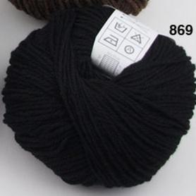 Laide Fado noir 100% mérinos - Fonty