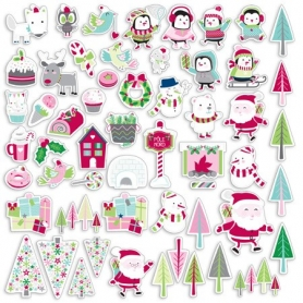 Formes papier pré-découpées Noël au Pôle Nord - Toga