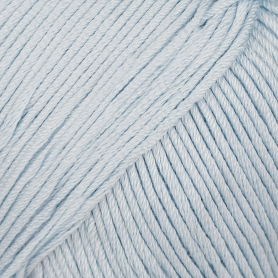 Pelote fil de coton essential cotton dk bleu clair Rico Design