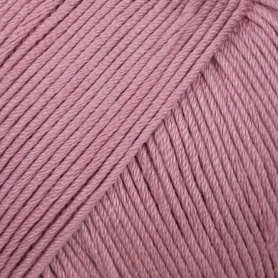 Pelote fil de coton essentials cotton dk vieux rose Rico Design