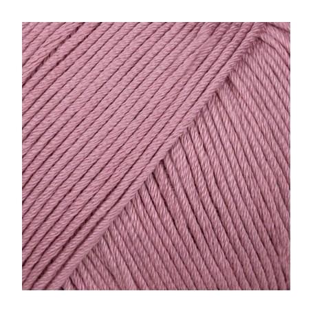 Pelote fil de coton essentials cotton dk vieux rose Rico Design