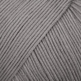 Pelote fil de coton essentials cotton dk gris Rico Design