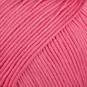 Pelote fil de coton essential cotton dk rose bonbon Rico Design