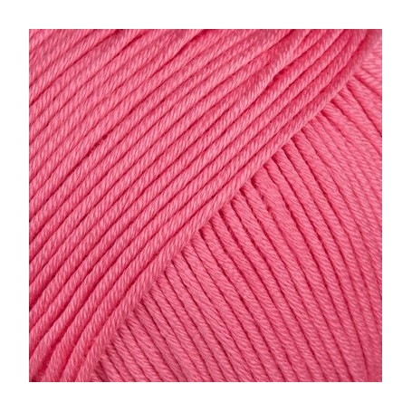 Pelote fil de coton essentials cotton dk rose bonbon Rico Design