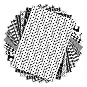 48 feuilles A4 Color Factory Noir et Blanc Toga