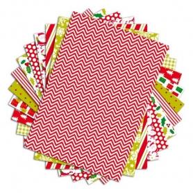 48 feuilles A4 Color Factory Noël traditionnel Toga