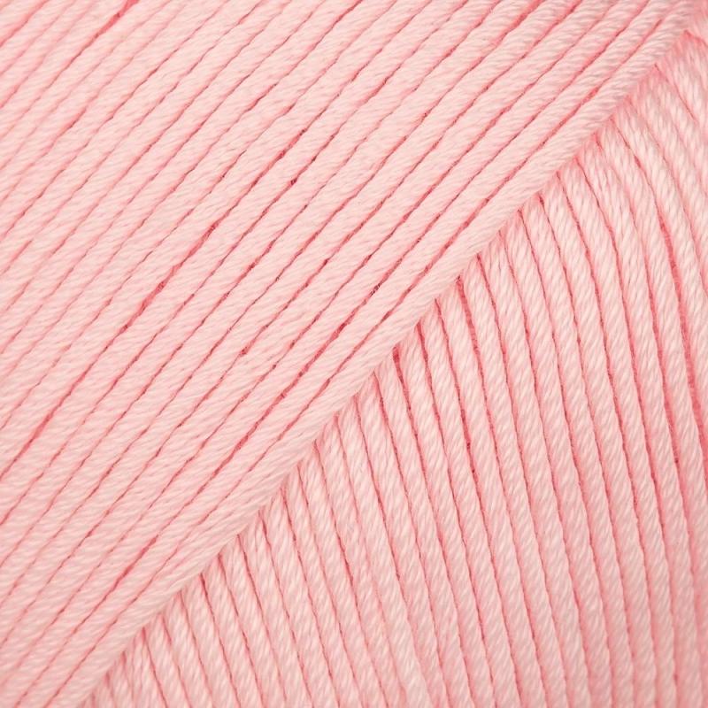 Pelote fil de coton essential cotton dk rose Rico Design