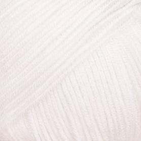 Pelote fil de coton essential cotton dk blanc Rico Design