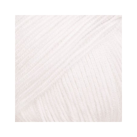 Pelote fil de coton essentials cotton dk blanc Rico Design
