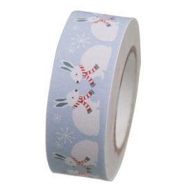 Masking tape forêt hivernale lapin de Rico Design