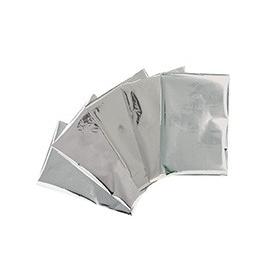 30 Feuilles métallisées pour Heatwave - argent