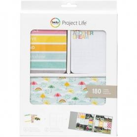 "Cartes Project Life ""Peace, Love & Sunshine"" de Becky Higgins"