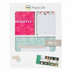 "Cartes Project Life ""Live Brightly"" de Becky Higgins"