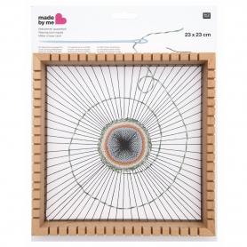 Métier à tisser carré Rico Design, 23 cm