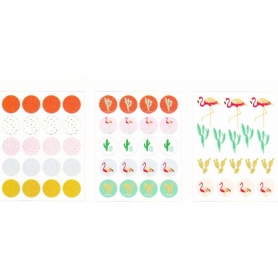 "Stickers Tropical Spring ""confettis"" Rico Design"