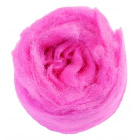 Laine à feutrer rose 50 g - Glorex