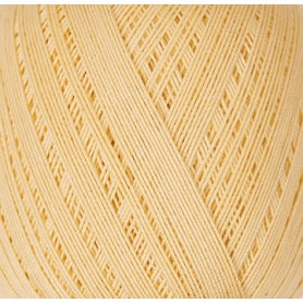 Coton mercerisé essential crochet vanille 50g - Rico Design