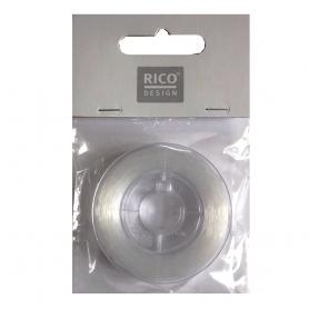 Fil de nylon pour tissage de perle 0,50 mm - bobine de 50 mètres
