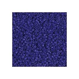 Perle rocailles japonaises itoshii tube bleu opaque - Rico Design