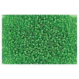 Perle rocailles japonaises itoshii tube vert opaque - Rico Design